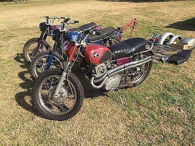 1966 Honda CL  Honda CL77 scrambler  CL 77 305cc 1965