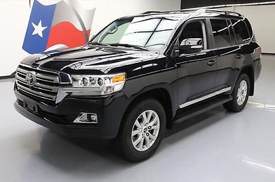 2016 Toyota Land Cruiser  2016 TOYOTA LAND CRUISER 4X4 SUNROOF NAV DVD 8-PASS 20K #037409 Texas Direct