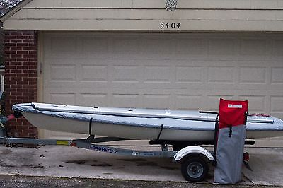FULLY LOADED Olympic Class Laser Full and Radial w/ Trailer and Extras