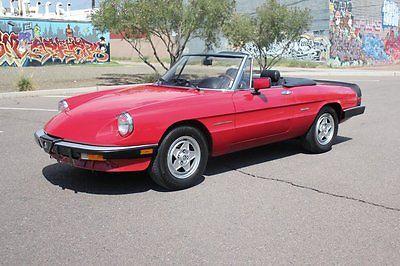 1986 Alfa Romeo Spider  1986 Alfa Romeo Spider Veloce!!