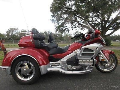 Honda Gold Wing TRIKE, 3 WHEELER, GOLD WING, GL1800 2012 Honda Goldwing Trike. CSC TRIKE, NAVI, CLEAN, NICE EXTRAS, SWEET RIDE