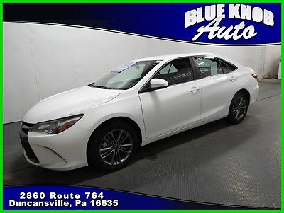 2016 Toyota Camry SE 2016 SE Used 2.5L I4 16V Automatic Front-wheel Drive Sedan