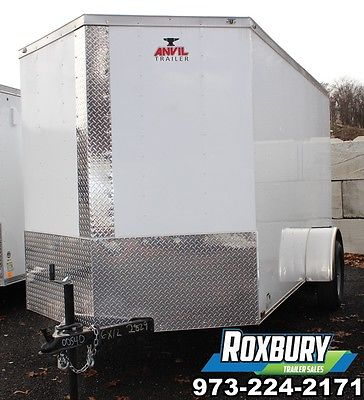 2017 Anvil 6x12 V-Nose Single Axle Enclosed Cargo Trailer