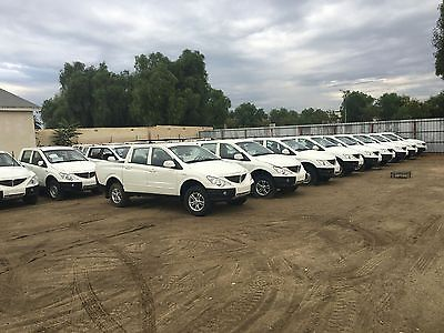 2009 Other Makes ACTYON TRUCK SANGYONG PICKUP TRUCKS NEW ! LOT SALE 46 VEHICLES ! MUST GO !