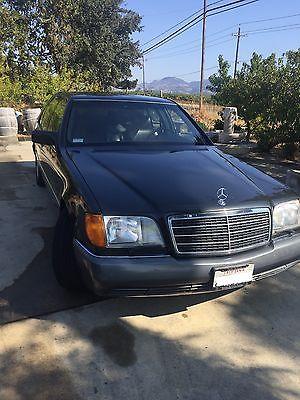 1992 Mercedes-Benz 600SEL  1992 Mercedes-Benz 600SEL