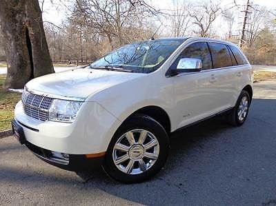 2007 Lincoln MKX AWD 4dr SUV 2007 Lincoln MKX AWD 4dr SUV 94925 Miles White SUV 3.5L V6 Automatic 6-Speed