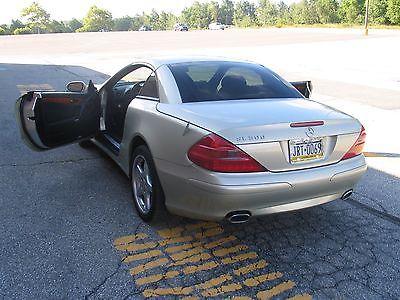 03 sl mercedes hardtop convertible trade for motorhome of equal value