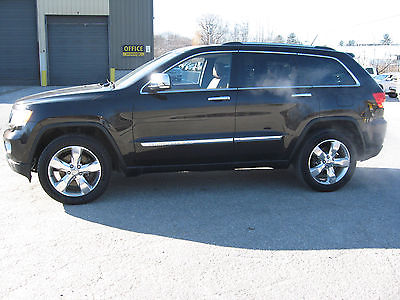 2013 Jeep Grand Cherokee overland summit jeep grand cherokee overland summit