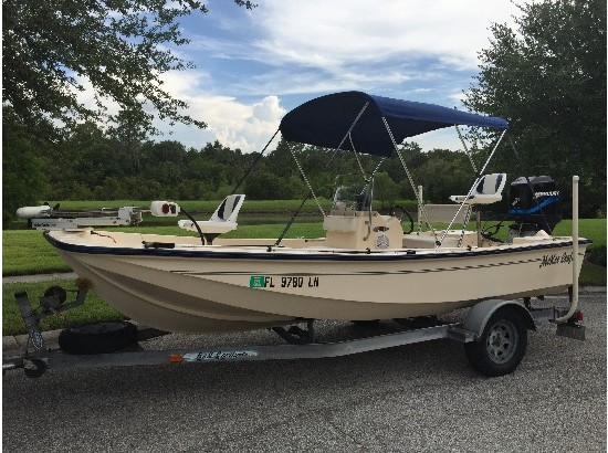 2001 Mckee Craft Flats Boat