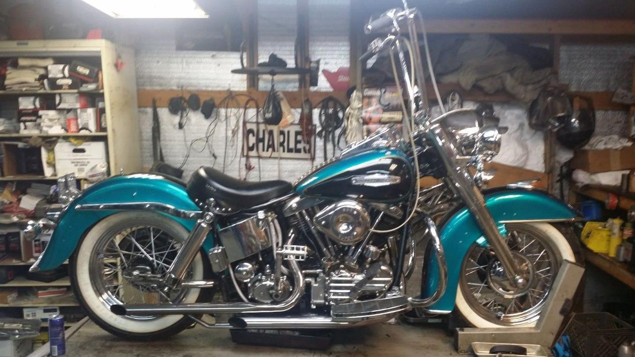 Harley Davidson: 1969 Harley Davidson Electra Glide Motorcycles For Sale