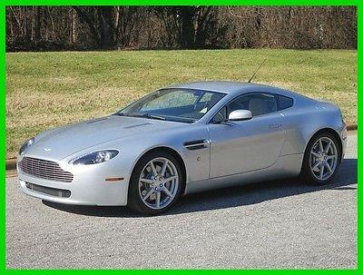 2006 Aston Martin Vantage 2DR VANTAGE MANUA 2006 2DR VANTAGE MANUA Used 4.3L V8 32V Manual RWD Premium