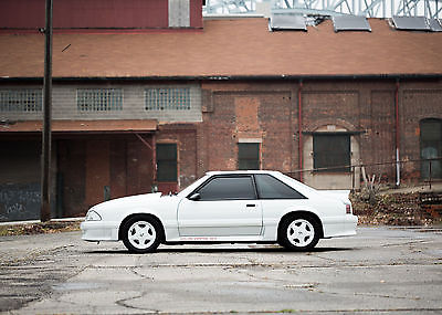 1987 Ford Mustang GT 1987 Ford Mustang GT 37k Original Miles No Expense Spared Clean Fox Notch Cobra