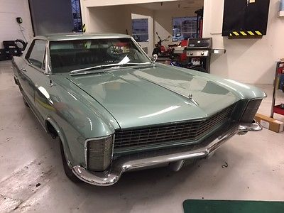1965 Buick Riviera Gran Sport 1965 Buick Riviera Gran Sport Very Rare  Numbers Matching Seafoam Green