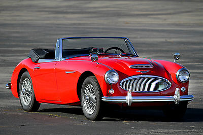 1963 Austin Healey 3000 3000 MK II 1963 BJ7 - Excellent ownership history - Recent restoration - extremely clean