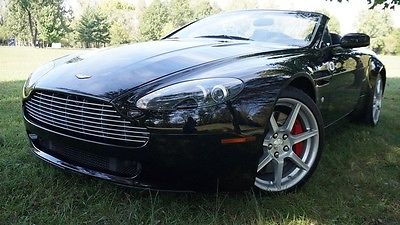 2008 Aston Martin Vantage Base Convertible 2-Door LOADED SPORTSHIFT NAVIGATION PREMIUM SOUND HEATED SEATS NEW TIRES MAKE OFFER WOW