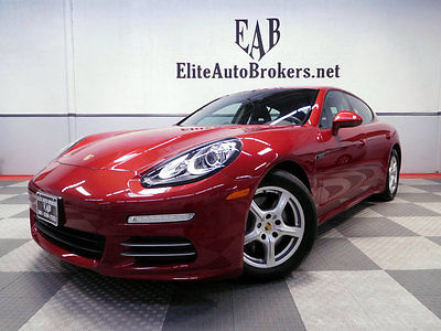 2014 Porsche Panamera Panamera 4 AWD 2014 Panamera 4 AWD PREMIUM PKG-LANE AND PARKING ASSIST-CARFAX CERT-MSRP $90,385
