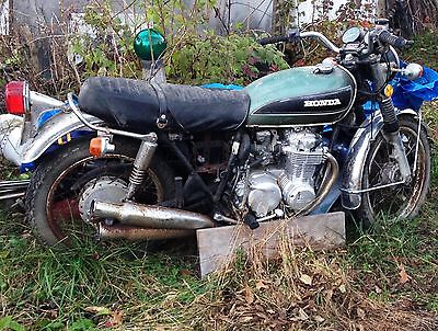 1973 Honda CB '73 Honda CB550 Green/Black pickup in N. Indiana Perfect