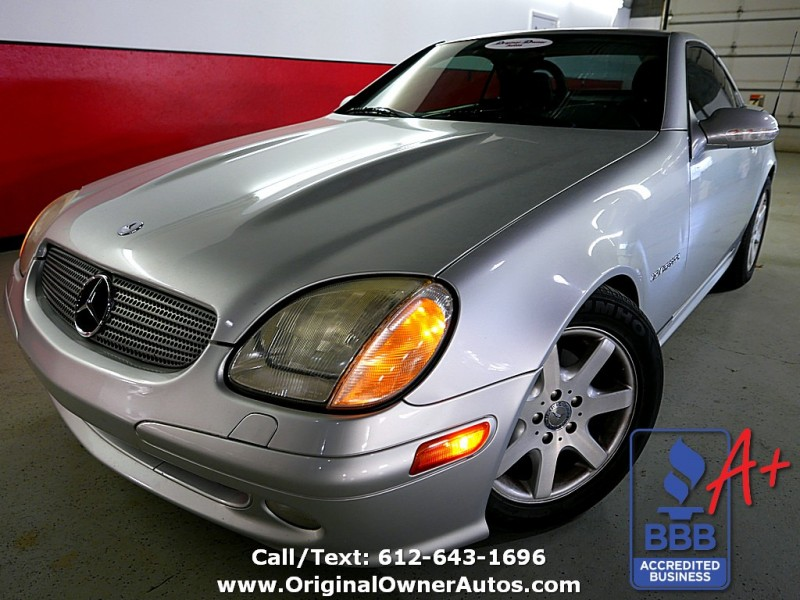 2001 Mercedes-Benz SLK230! 97k, No Accidents, Leather, Clean!