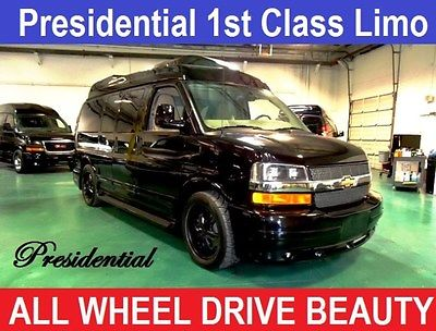 2014 Chevrolet Other Pickups presidential conversion van 2014 Chevrolet AWD Conversion Van for sale!