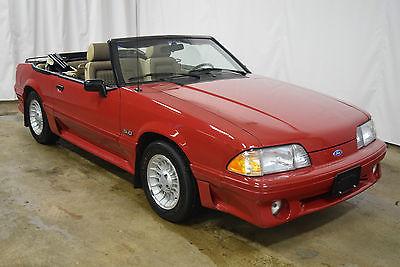 1989 Ford Mustang GT 5.0 Convertible Survivor 1989 Ford Mustang GT 5.0 Conv **16,075 Miles** Fox Body Survivor Cream Puff