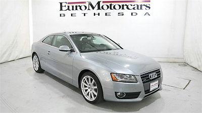 2011 Audi A5 2.0T Premium Plus audi a5 stick shift premium plus 11 12 13 navigation 6 speed manual gray best md