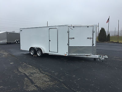 New 2017 All Aluminum 23' Enclosed 7'X18'+ 5'V SMALL CAR /SNOW/UTV
