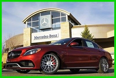 2017 Mercedes-Benz C-Class 2017 Mercedes-Benz C63S AMG 2017 AMG C63 New Turbo 4L V8 32V Automatic RWD Sedan Premium