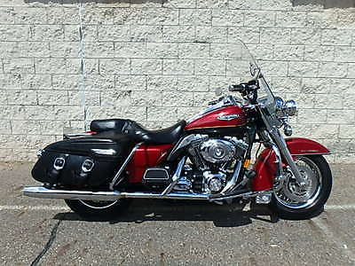 2007 Harley-Davidson Touring  2007 HARLEY DAVIDSON ROAD KING CLASSIC IN RED AND BLACK!!!! UM30909 M.R.