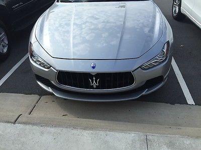2014 Maserati Ghibli none 2014 Maserati Ghibli