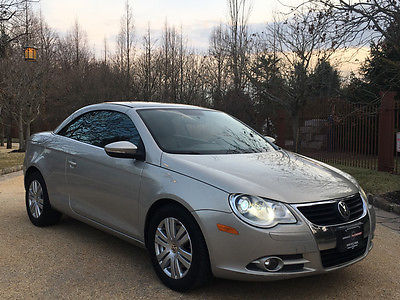 2010 Volkswagen Eos  low mile free shipping warranty turbo clean carfax financing loaded 2 owner
