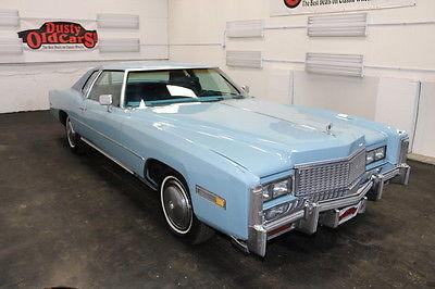 1975 Cadillac Eldorado Purchased by Elvis Presley for Myrna Smith 1975 Blue Purchased by Elvis Presley for Myrna Smith!