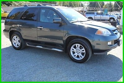 2005 Acura MDX Touring 2005 Touring Used 3.5L V6 24V Automatic 4WD SUV Moonroof Premium