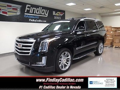 2015 Cadillac Escalade LUXURY 2015 CADILLAC ESCALADE LUXURY Black Raven OHV 16V VVT V8 Automatic