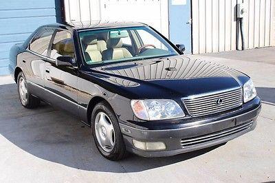 2000 Lexus LS Base Sedan 4-Door 2000 Lexus LS400 Heated Leather Seats Sunroof Knoxville TN LS 400 00