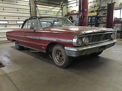 1964 Ford Galaxie 500 XL  1964 FORD GALAXIE 500 XL CONVERTIBLE 390 4V Z-CODE 4-SPEED
