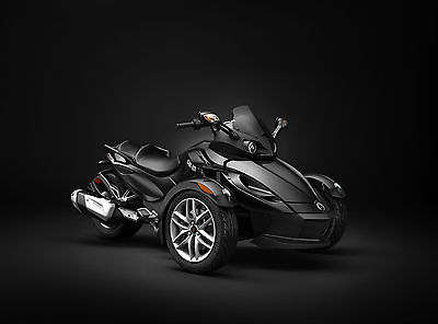 2015 Can-Am SPYDER RS SM5 990  NEW 2015 CAN AM SPYDER RS SM5 990 BLACK MANUAL SHIFT