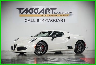 2015 Alfa Romeo 4C Launch Edition 2015 Launch Edition Used Turbo 1.7L I4 16V Automatic RWD Coupe Premium