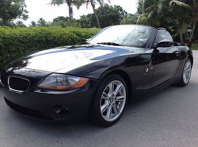 2003 BMW Z4 3.0i Convertible RWD Automatic