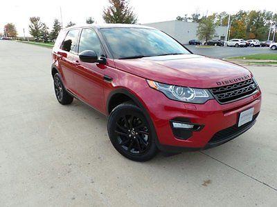 2016 Land Rover Discovery SE 2016 Land Rover Discovery Sport