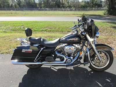 Touring ROADKING, ROAD KING, FLHR, 2005 Harley-Davidson Road King, DETACH FARING, EXHAUST, NICE EXTRAS,