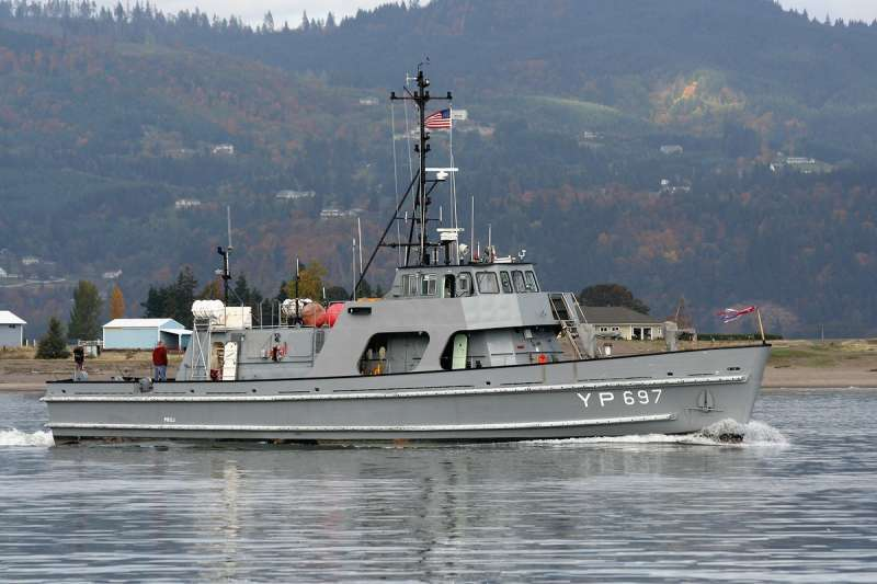 108' ex US Navy training & research vessel