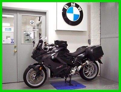 BMW F 800 GT 2014 BMW F 800 GT Graphite Saddle Bags Tank Bag Loaded Driving Lights F800GT