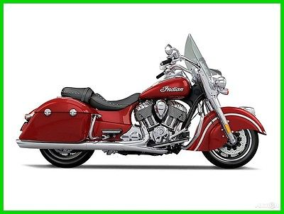 Indian Springfield Indian Motorcycle Red 2016 Indian Springfield Indian Motorcycle Red New