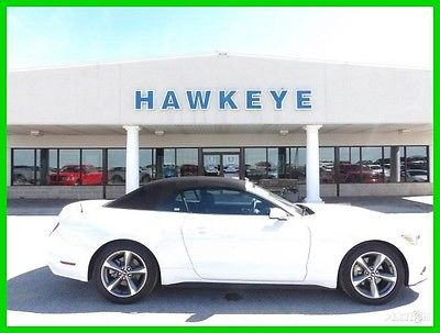 2016 Ford Mustang V6 2016 V6 Used Certified 3.7L V6 24V Automatic RWD Convertible