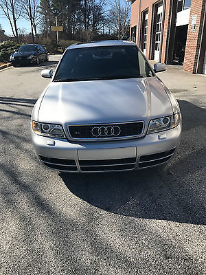 2001 Audi S4 2001 Audi S4 All-wheel drive Twin-Turbo