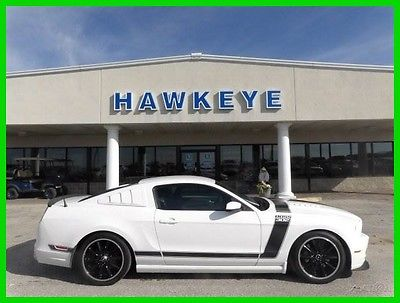2013 Ford Mustang Boss 302 2013 Boss 302 Used 5L V8 32V Manual RWD Coupe Premium