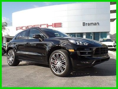 2016 Porsche Macan Turbo 2016 Turbo Used Certified 3.6L V6 24V AWD SUV Premium Bose