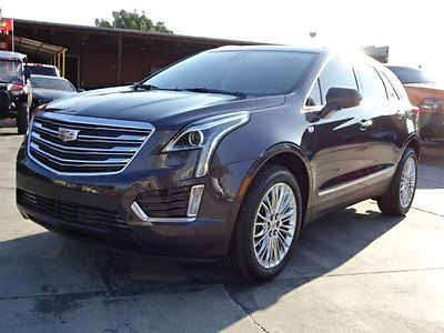 2017 Cadillac XT5 Luxury 2017 Cadillac XT5 Luxury Damaged Salvage Only 531 Miles Loaded w Options L@@K!!