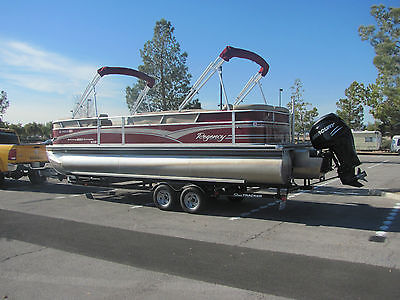 2013 Sun Tracker 250 XP3 Regency Tritoon Pontoon Boat