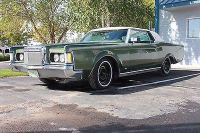 1971 Lincoln Continental Mark III 1971 Lincoln Mark III